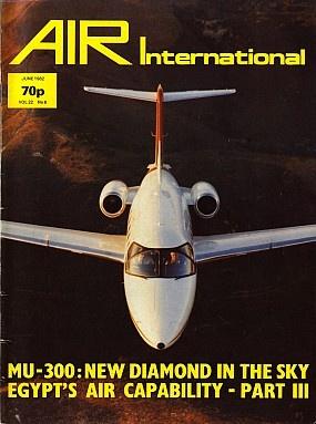 Журнал Air International - Vol 22 No 6