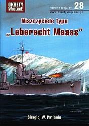 Журнал Okrety Wojenne Nr specjalny 28 - Niszczyciele typu Leberecht Maass