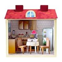 Книга Бумажные модели. Набор для девочек. Кухня