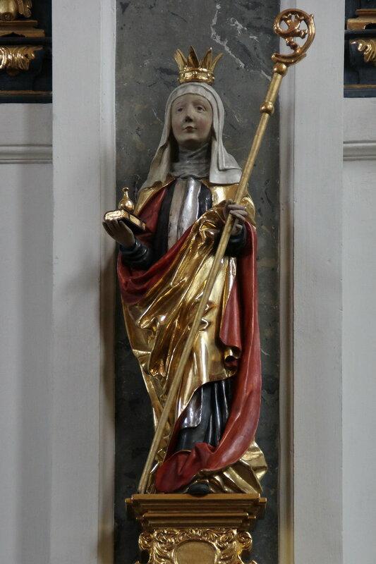 Statue of Saint Walburga