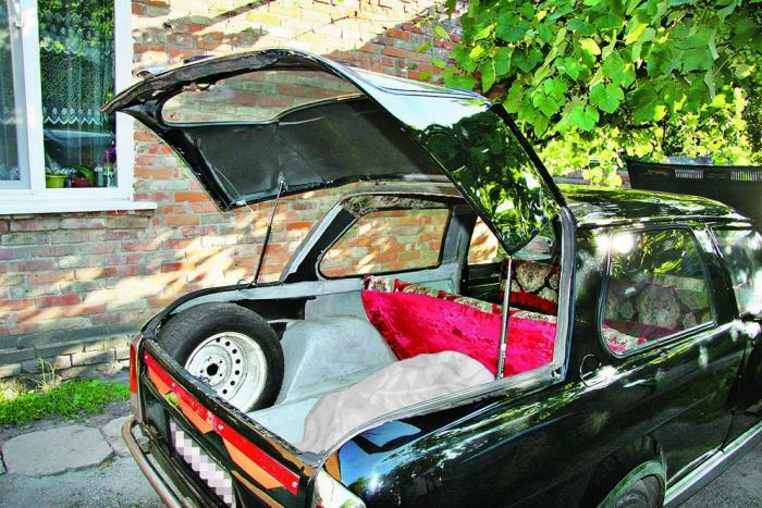 Самодельный автомобиль из нержавейки
