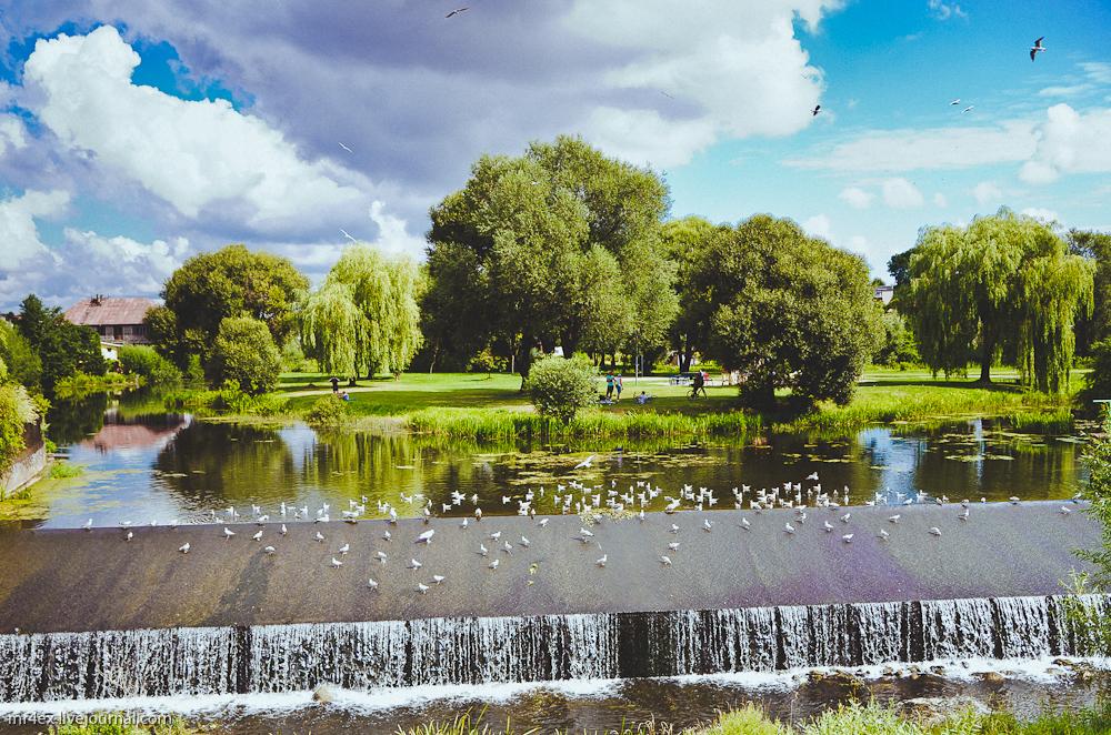 Кретинга, Литва, река Акмяне
