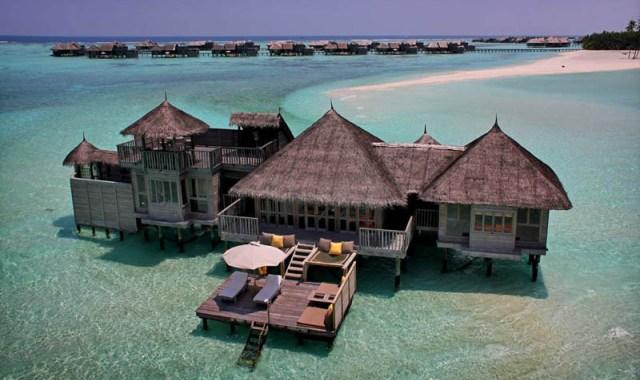 Дивовижні будиночки готелю Soneva Gili