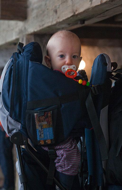 Бавария в декабре на машине с ребенком 1,2 года