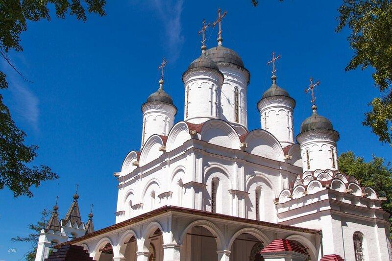 Спасо-Преображенская церковь села Большие Вязёмы