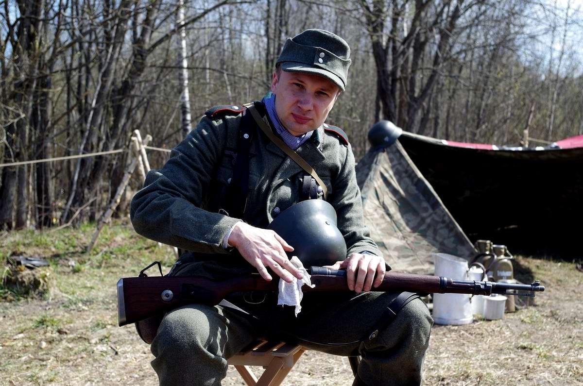 Забавные моменты из жизни военных реконструкторов (45)