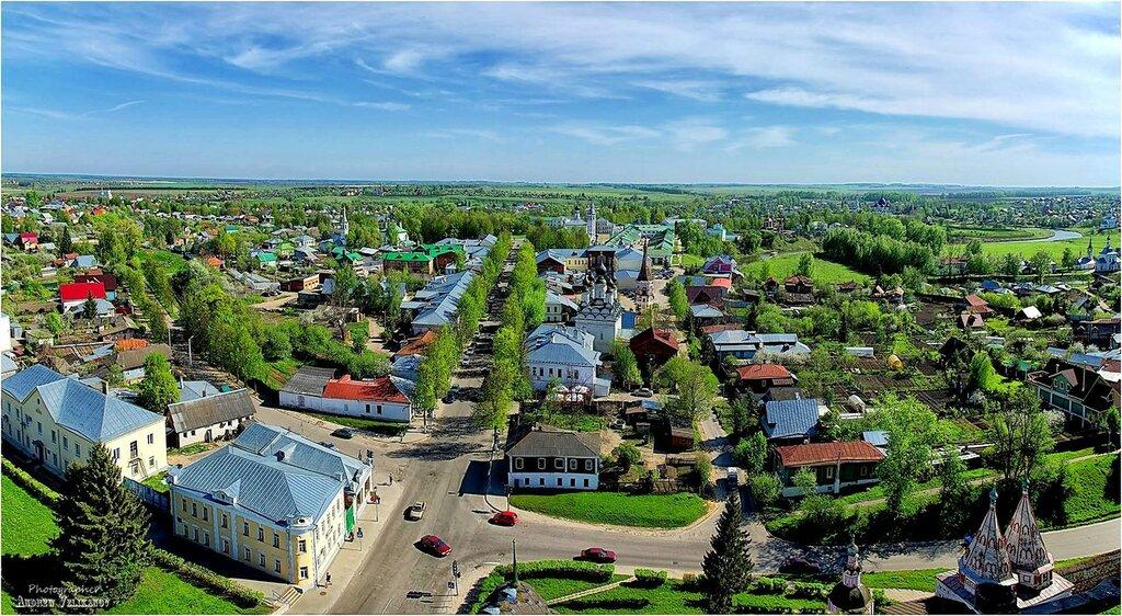Суздаль. Панорама юго-западной части города.