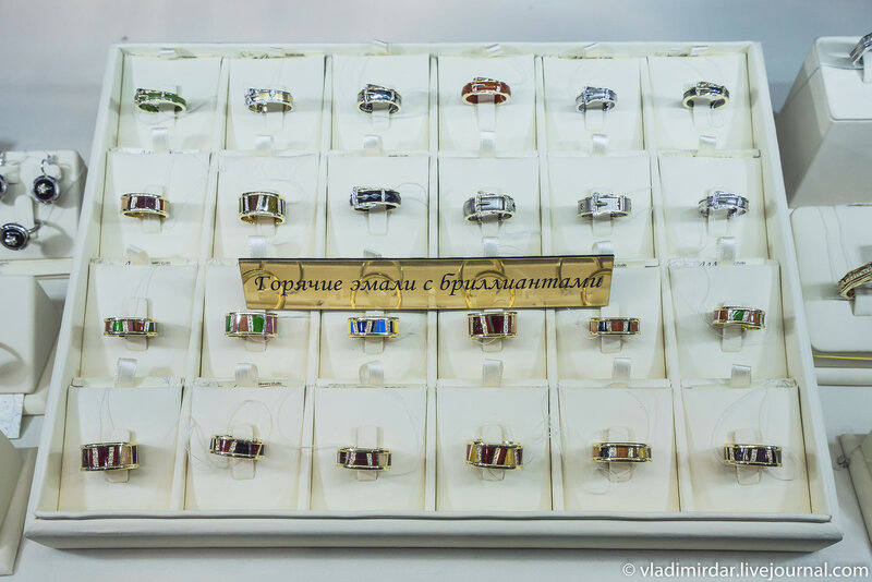 Горячие эмали с бриллиантами