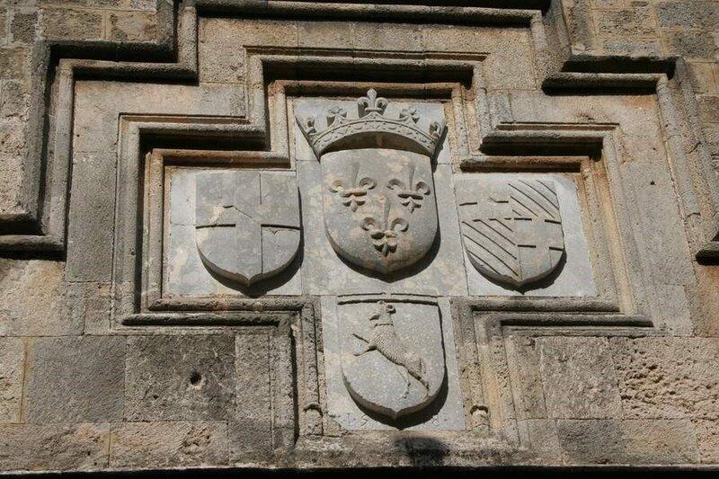 Родосская крепость, Герб