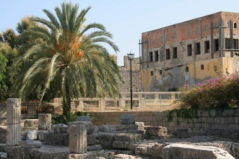 Руины храма Афродиты