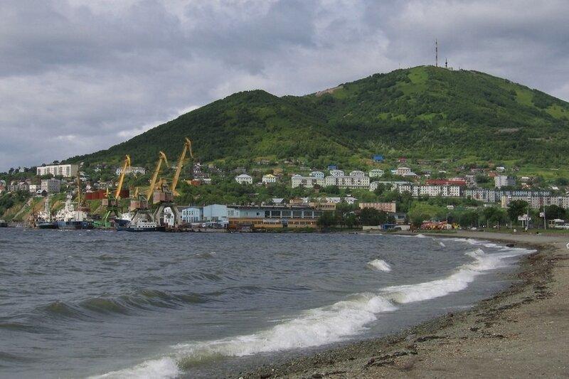 Петропавловск-Камчатский, Камчатка, порт Петропавловска-Камчатского