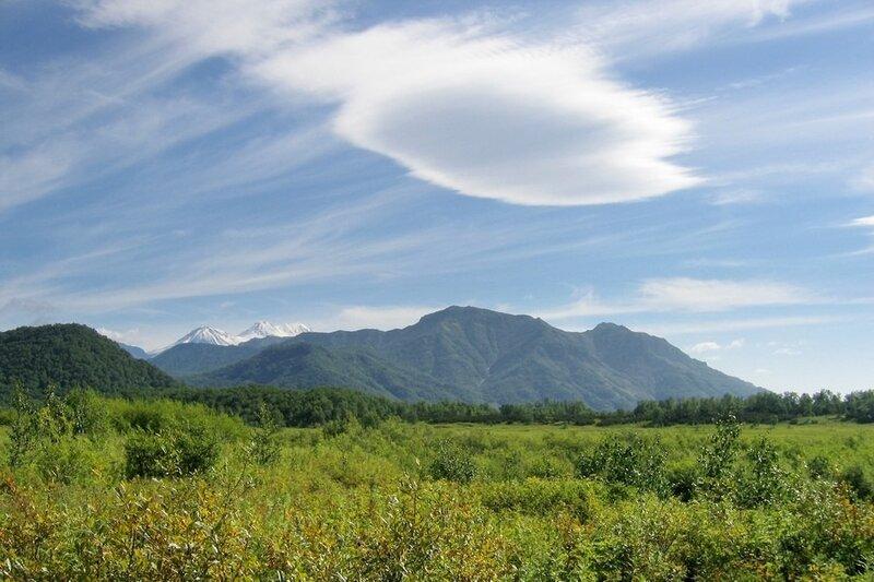 Облако над Налычевской долиной