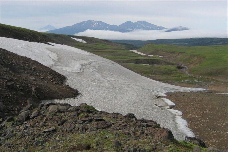 Плато около Мутновского вулкана, Камчатка