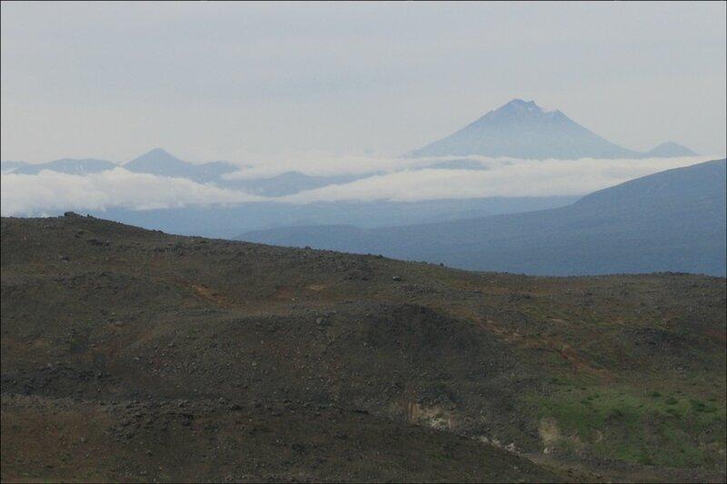 Облака и вулканы, Камчатка
