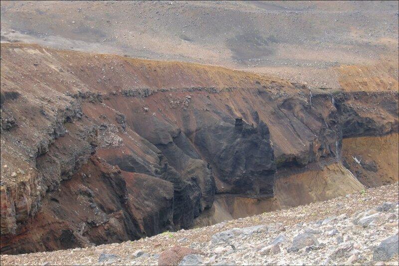 Каньон Опасный, Мутновский вулкан, Камчатка