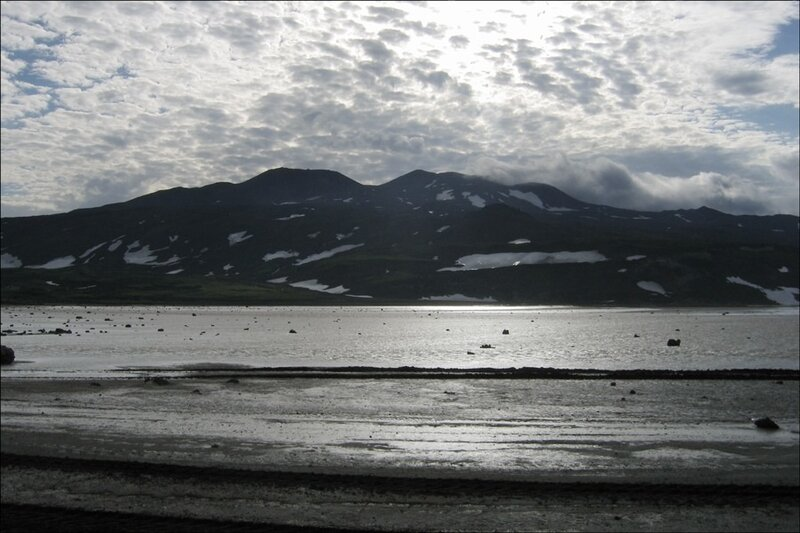 Камчатка, вулкан Горелый и кальдера