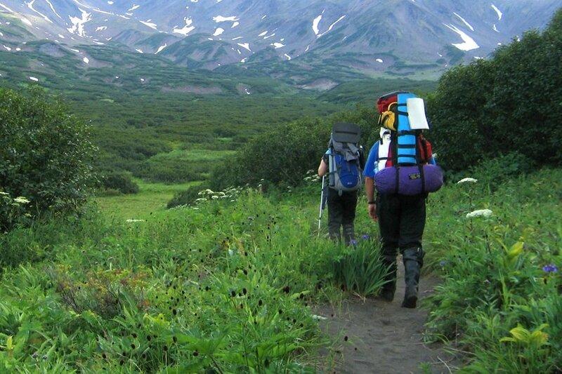 Дорога к Пиначевскому перевалу, Камчатка