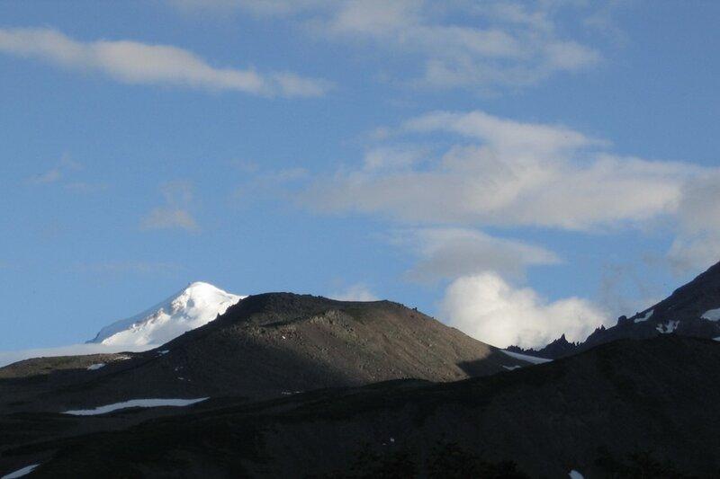 Вечер в горах, Пиначевский перевал, Камчатка