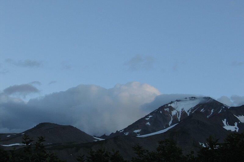 Вулкан Ааг, Камчатка
