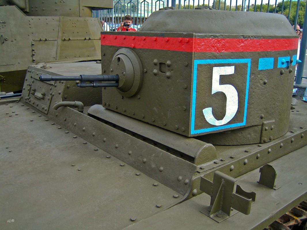 Т-38 — советский малый плавающий танк