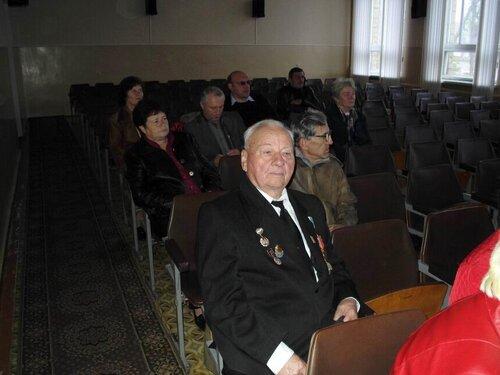 звітно-виборча конференція районної організації ветеранів війни та праці