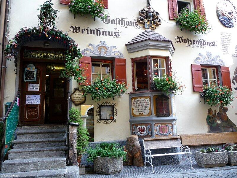 Переулок Römerhofgasse.