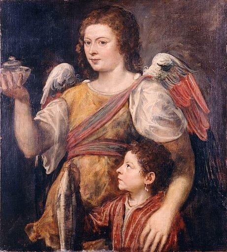 """Тициан """"Товия и ангел"""""""
