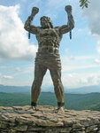 Орлиные скалы - памятник Прометею