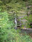 Водопад средь скал