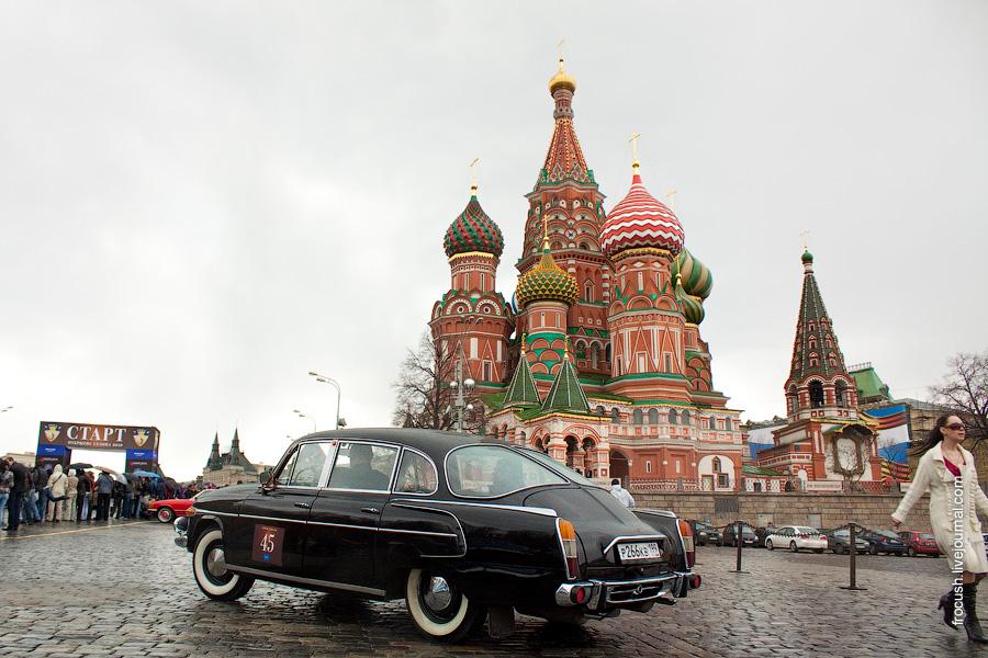 Tatra 603 на Васильевском спуске