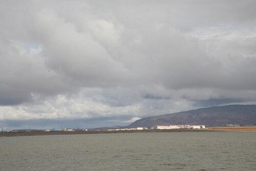 город Анадырь - на лимане