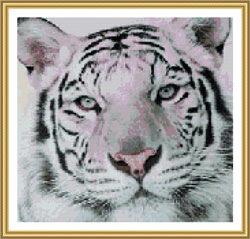 Вышивка крестиком. Тигр (3 шт.)