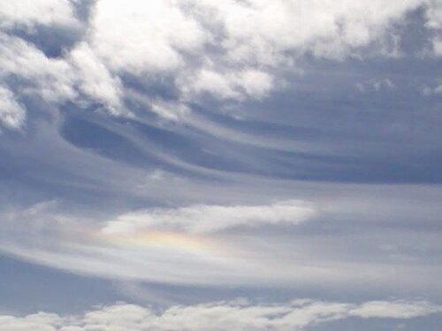 Радуга в облаках (гало)