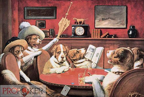 Как называется картина собаки играют в карты игровые автоматы онлайн без регистрации бесплатно играть