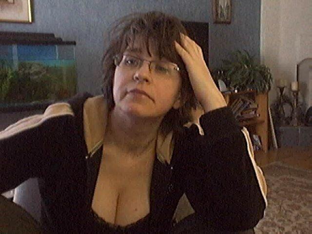 Катя в скайпе балуется