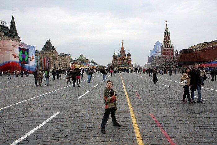 Москва 1 мая 2010
