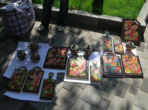 Набережная - Петриковская роспись