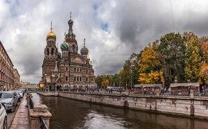 Осень на канале Грибоедова