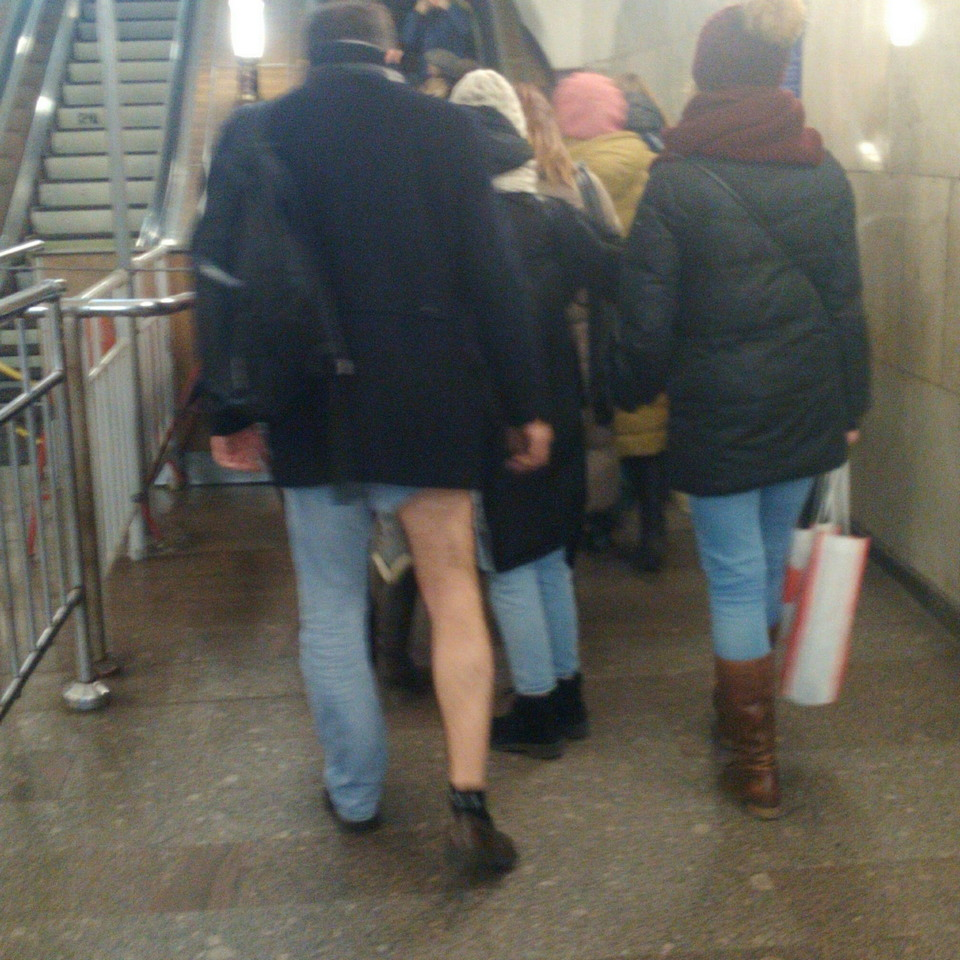 Модники из метрополитена