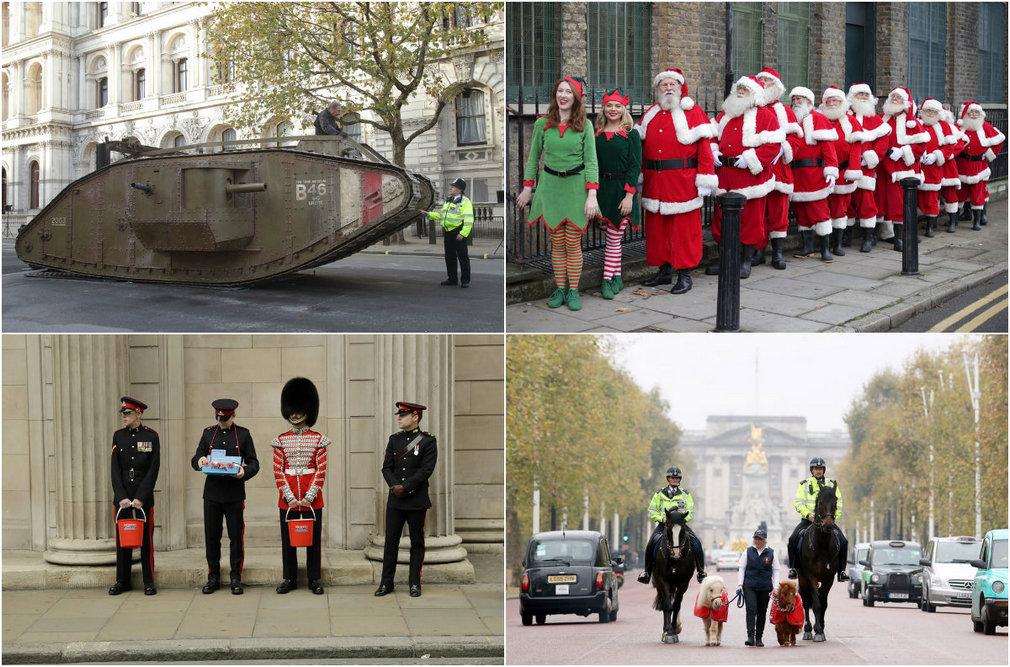 Повседневная жизнь в Великобритании в фотографиях