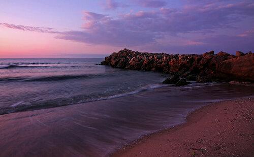 Утро на море