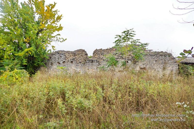 Руины караван-сарая, Старый Крым