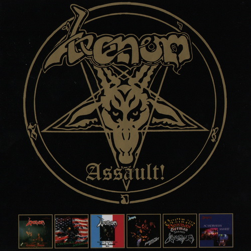 Venom - 2017 - Assault! [Dissonance Productions, DISS081CDBX, 6CD, UK]