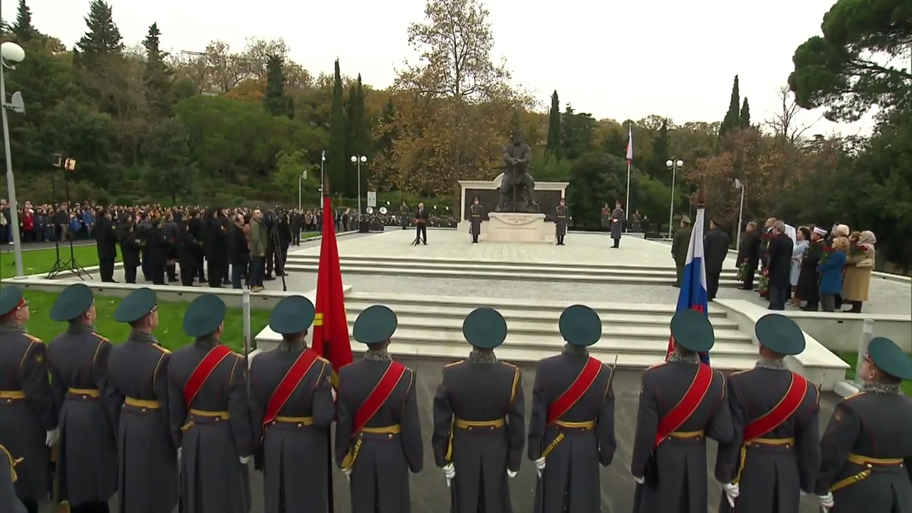 Открытие памятника Александру III