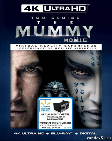 Мумия / The Mummy (2017) | UltraHD 4K 2160p