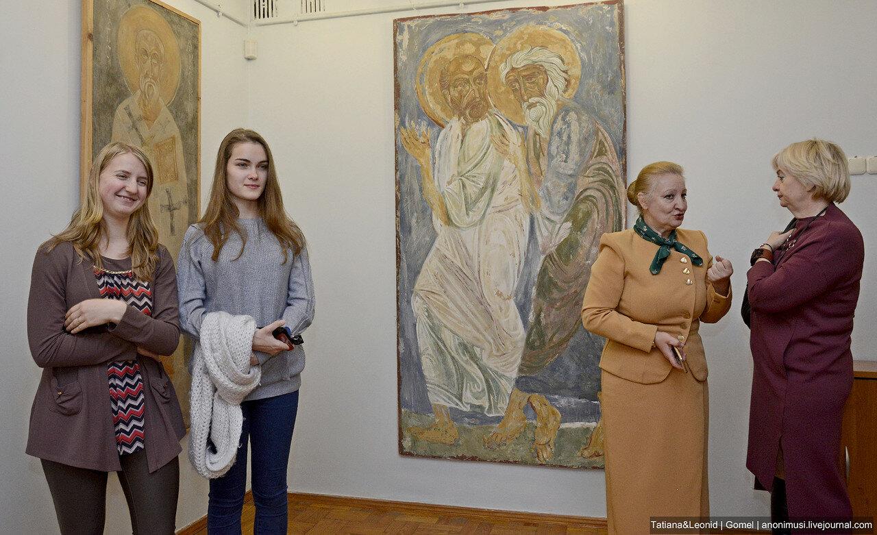 Выставка Образ, традиция и время в картинной галерее Г. Х. Ващенко. Гомель