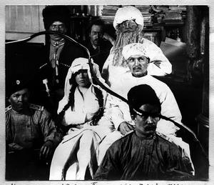 После спектакля пьесы Тамара в дни празднования на судне масленицы