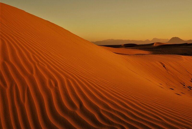Просто песок