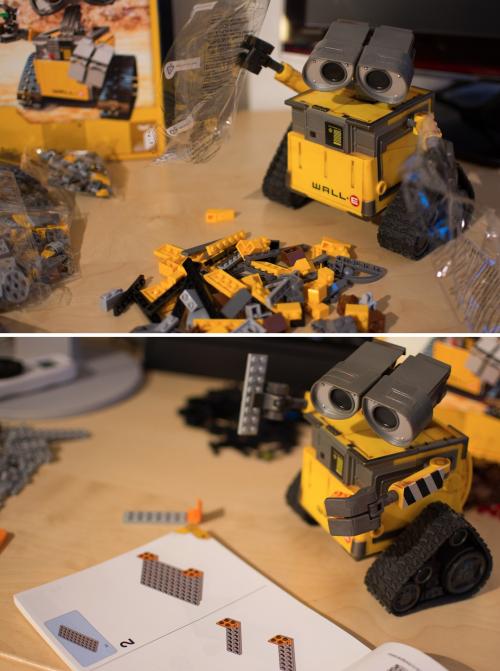 WALLE строит WALLE