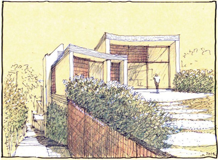 Triplex Apartments by Luigi Rosselli Architects